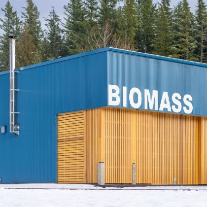 Don Ross Biomass Plant by studioHuB architects