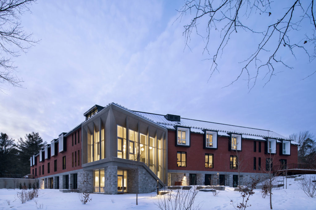 Mitchell Family House - A century-old campus reinvents itself