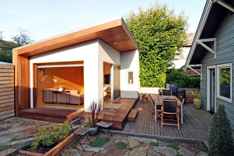 Seattle Backyard Office by Fivedot