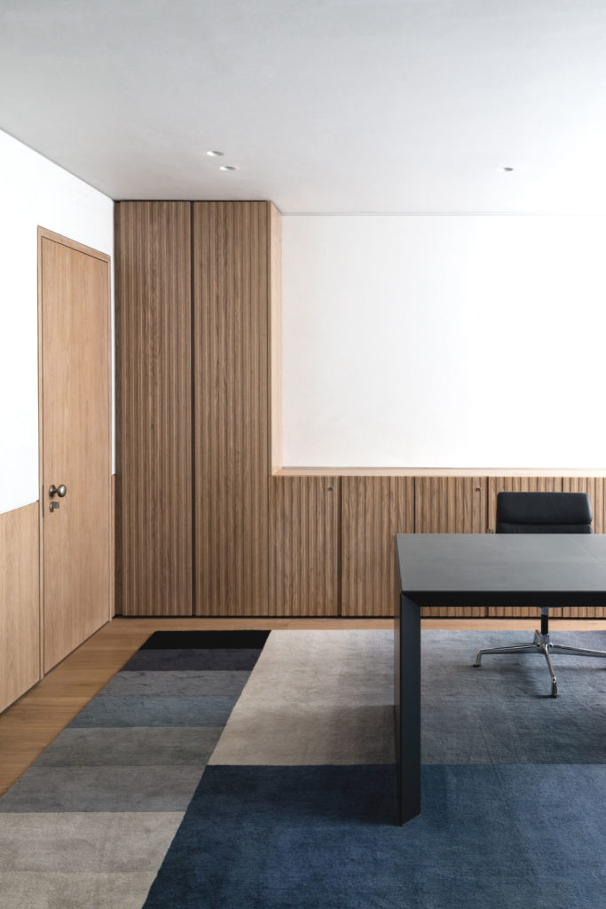 QS, a pair of Georgian townhouses, turned into a private family office