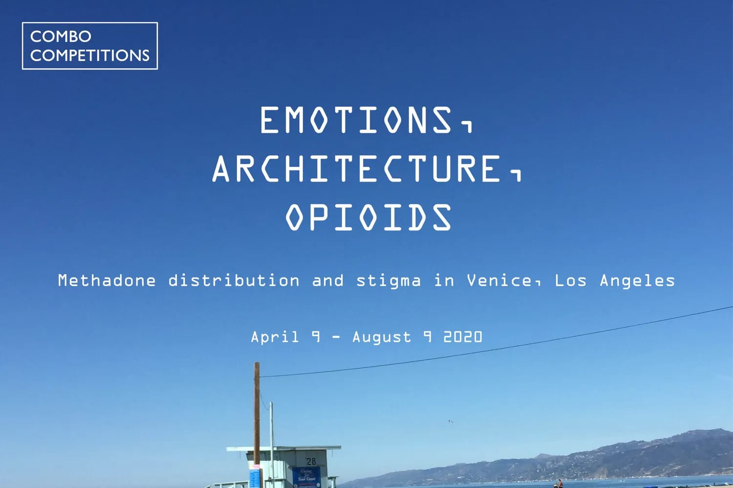 Call for Submission: Emotions, Architecture, Opioids