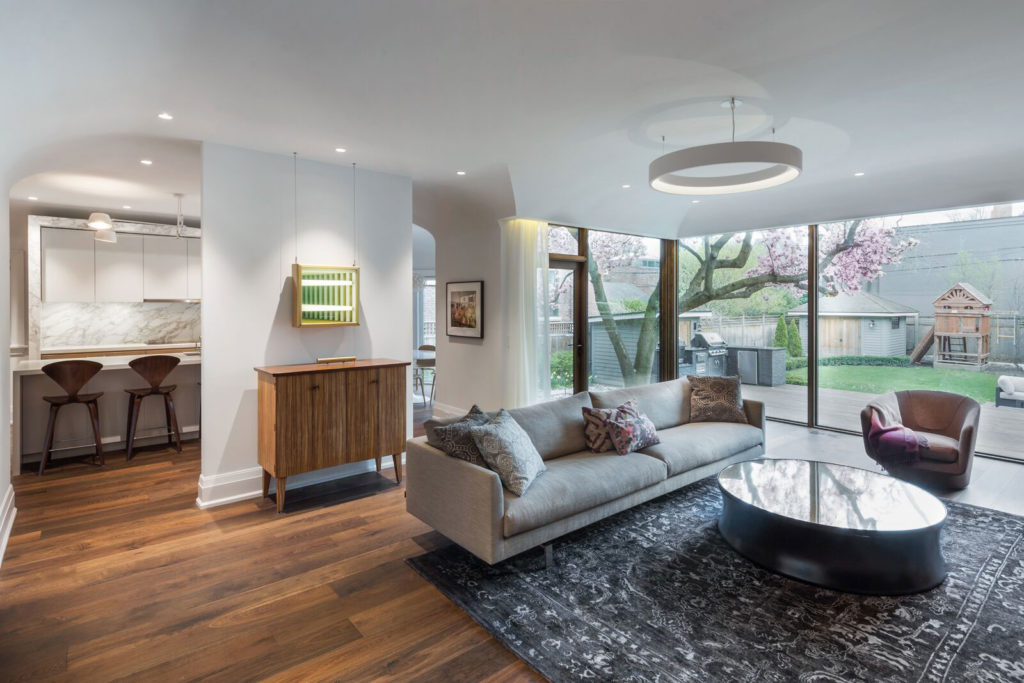Magnolia house, Living Room