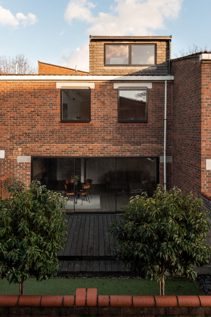 Two and a Half Storey House by Bradley Van Der Straeten