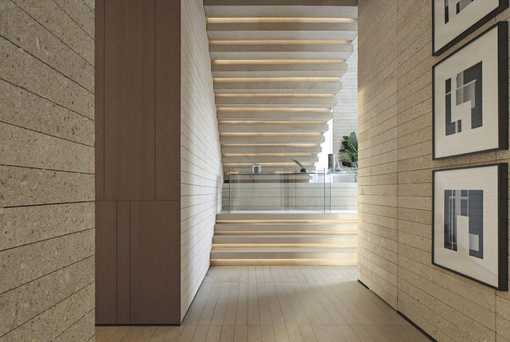 Details under stairs