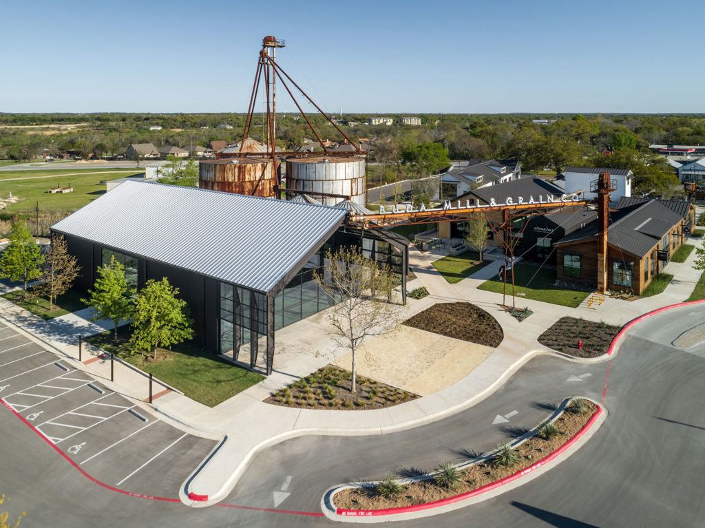 Buda Mill & Grain Co. by Cushing Terrell