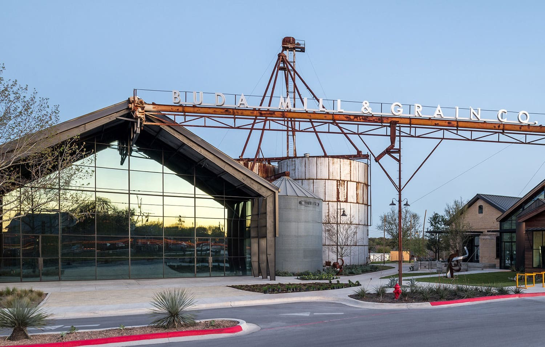 Buda Mill & Grain Co. by Cushing Terrell