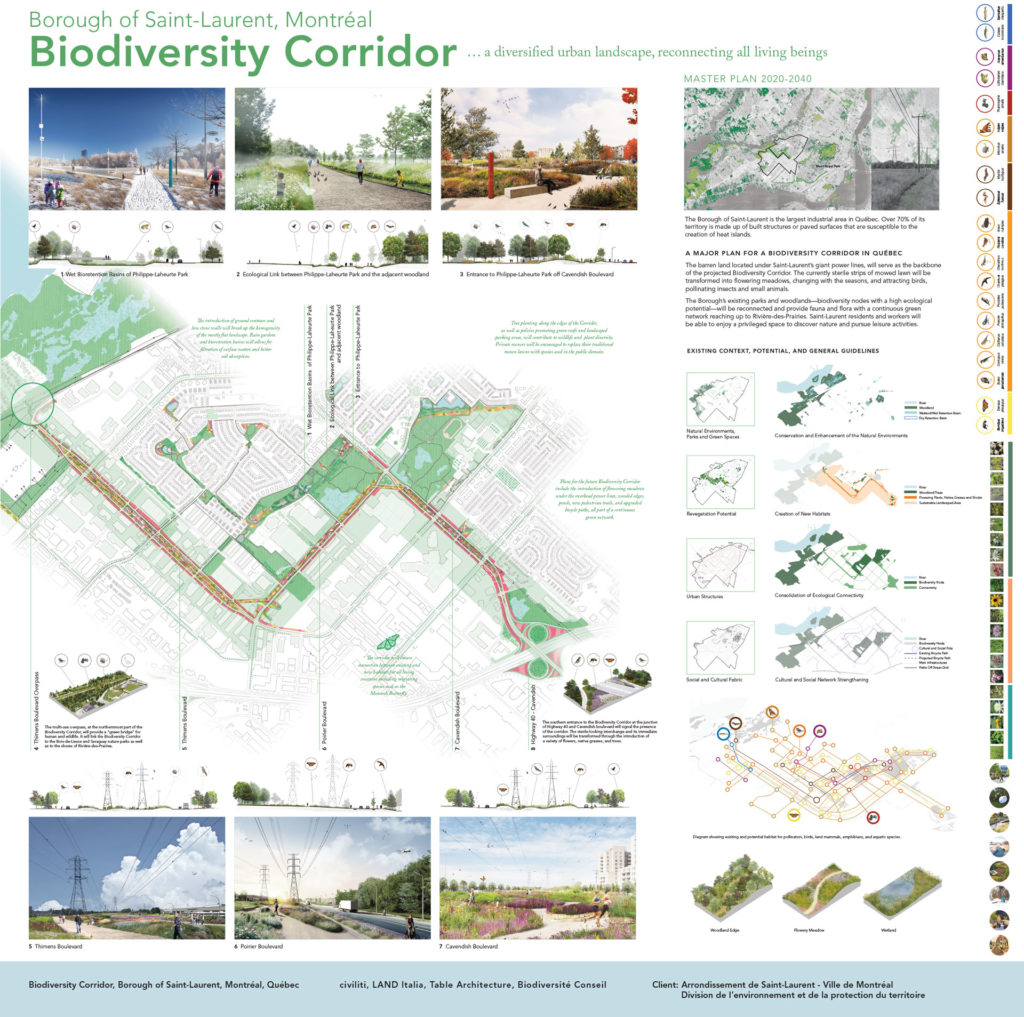 A Biodiversity Corridor for Montreal