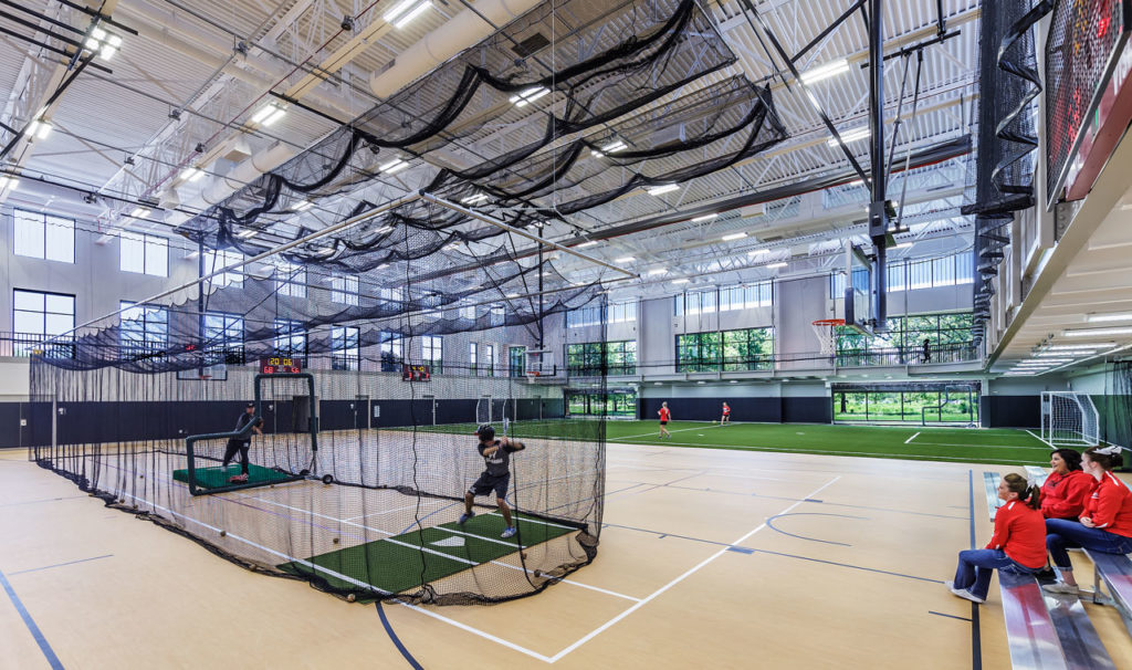Waubonsee Community College Fieldhouse by Cordogan Clark