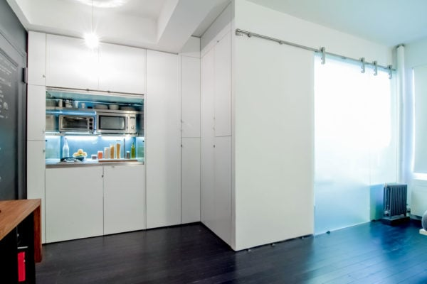 Park Avenue Mini Studio - a redesigned 220-square-foot space in New York City