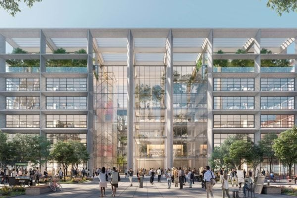 ICONE by Foster + Partners breaks ground in Luxembourg