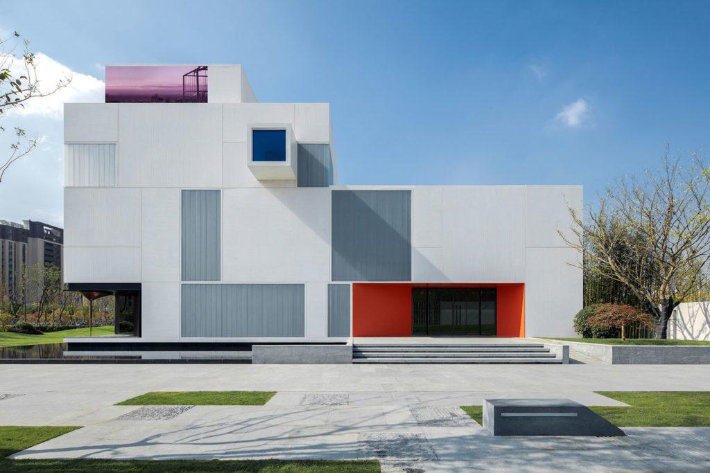 White Square, G54 exhibition center by MINGGU Design
