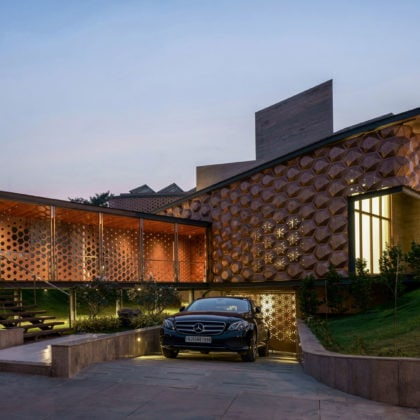 Hive is an intelligent, adaptable and sustainable family home in India