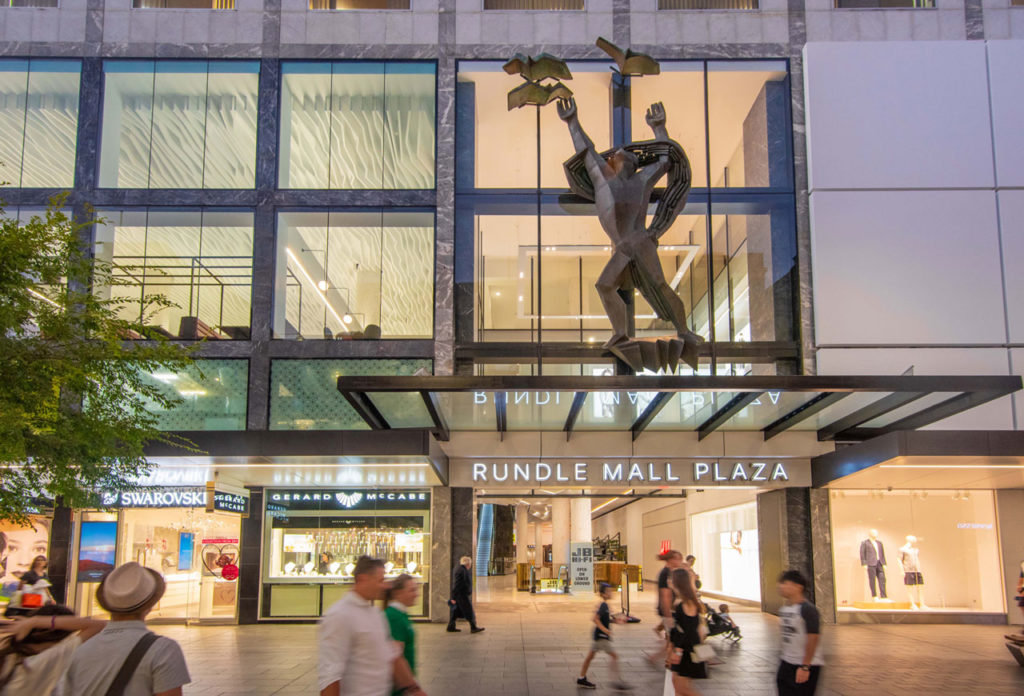 Rundle Mall Plaza by Hames Sharley