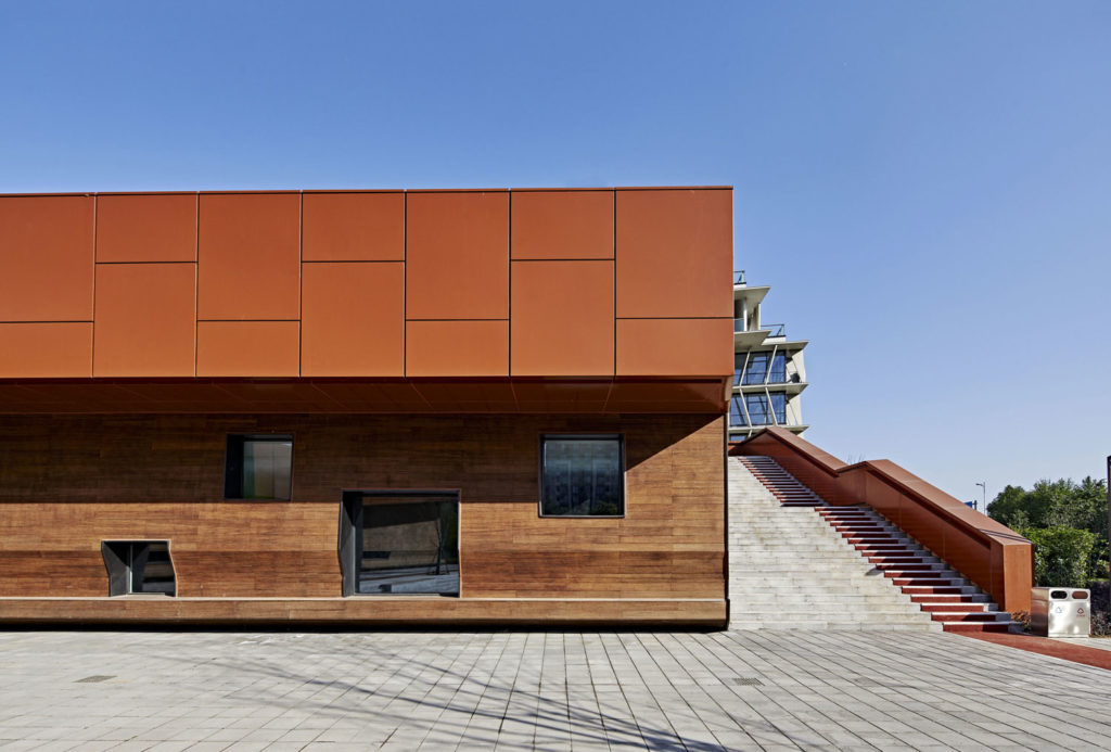 Pukou Community Centre by BAU Brearley Architects + Urbanists