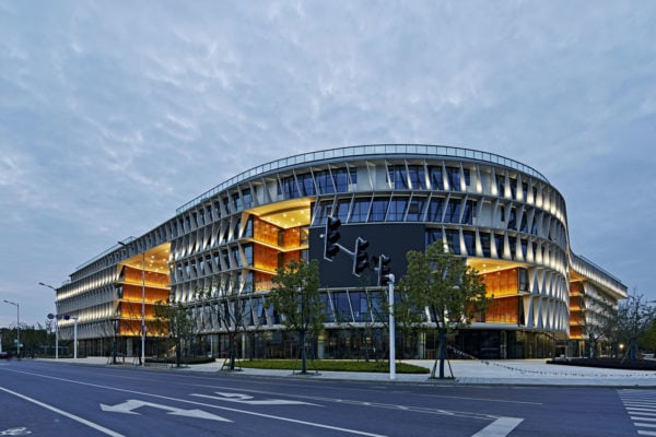 Pukou Community Centre by BAU Brearley Architects + Urbanists