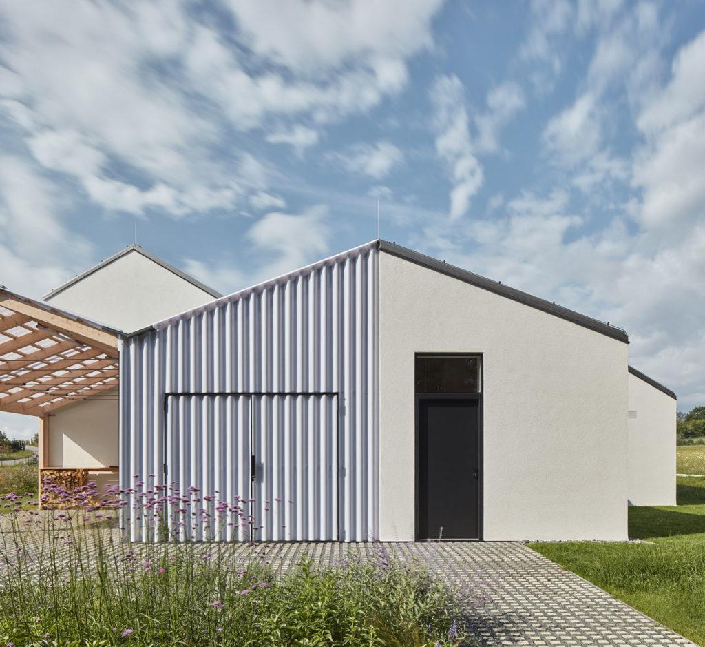 House in a field by DDAANN