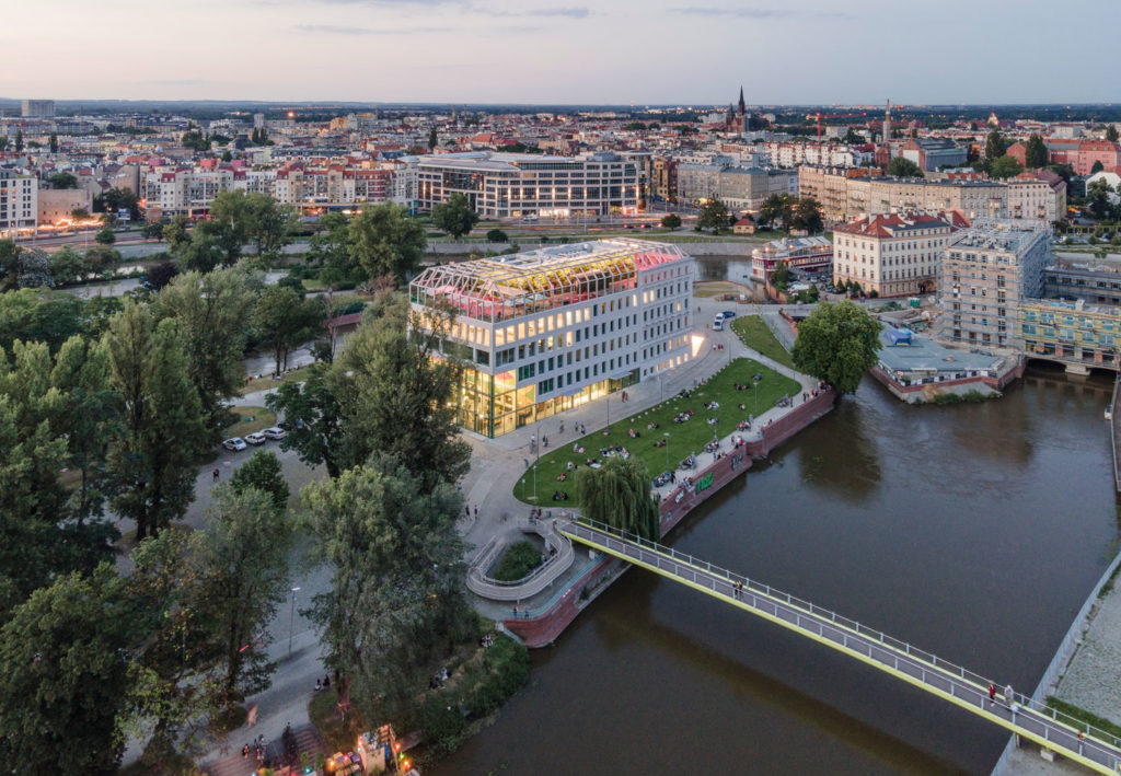MVRDV completes Concordia Design Wrocław, transforming a heritage building into a dynamic creative hotspot