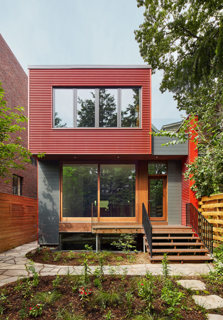 Riverdale Red House by Asquith Architecture