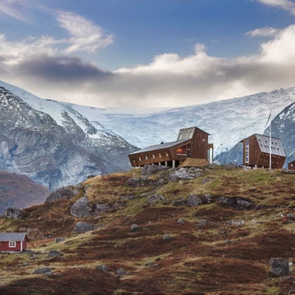 Tungestølen, a Hiking Cabin by Snohetta
