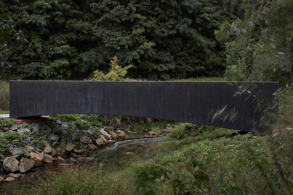 Bridge over the Dřetovice stream