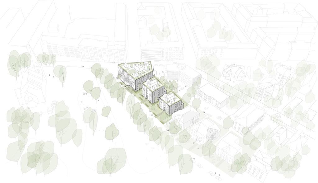 Pilestredet 77-79 by Reiulf Ramstad Arkitekter