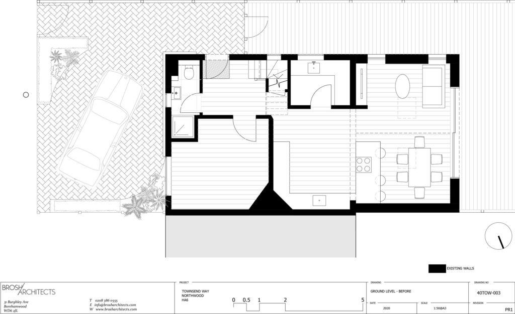 Ground Floor Plan - Before