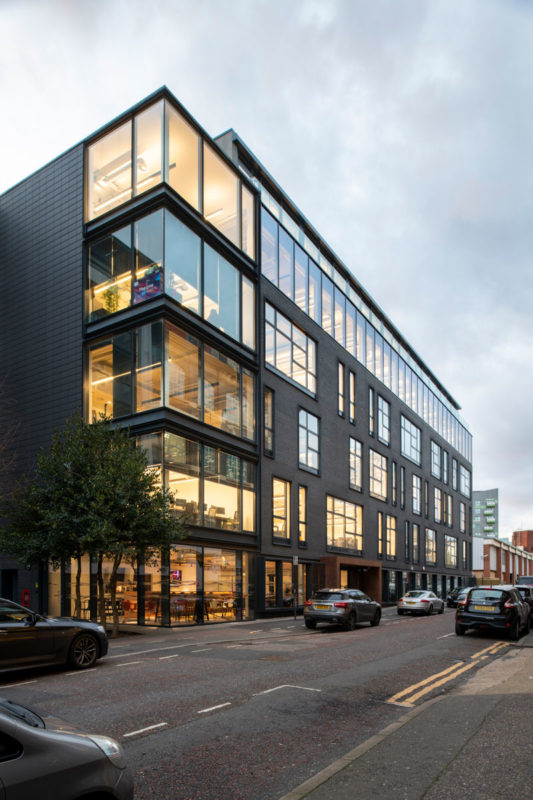 Exterior View - us&co, London co-working office by Stamos Yeoh Architects