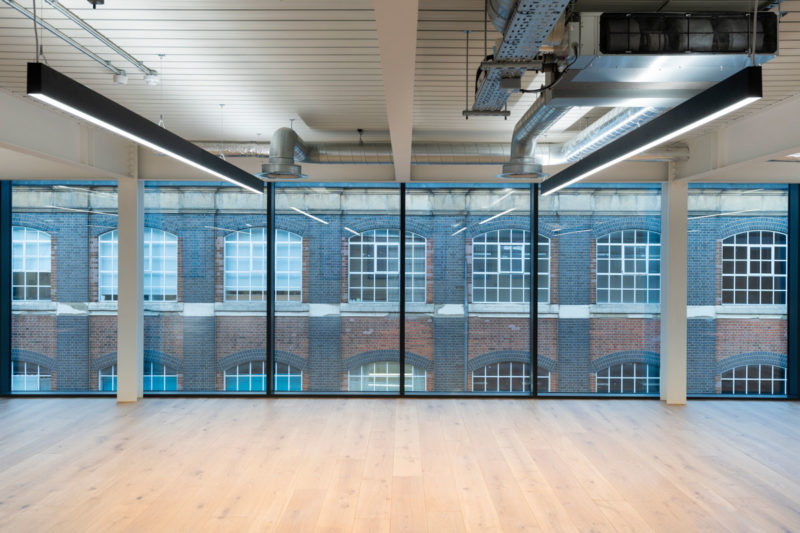 Open Office - us&co, London co-working office by Stamos Yeoh Architects