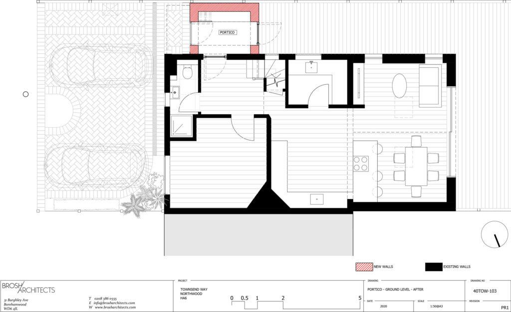Ground Floor Plan - After