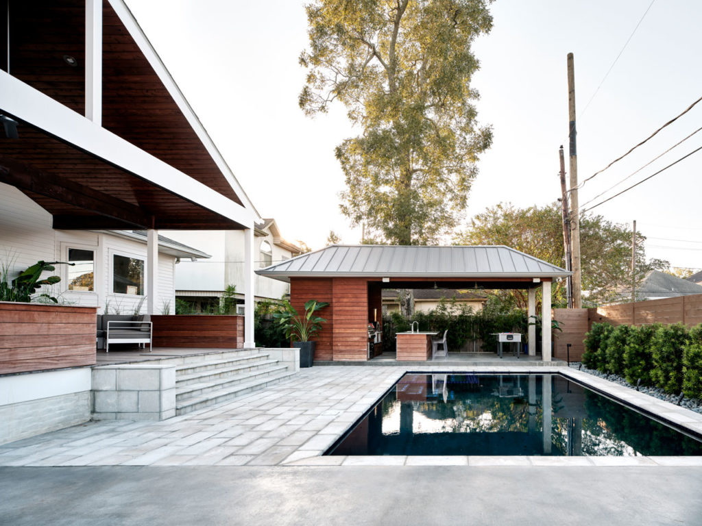 Exterior Renovation of an existing home located in Old Metairie, LA