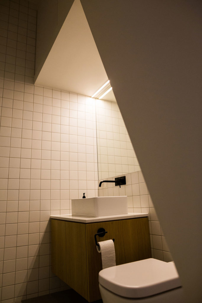 A Tiny Bathroom by Selborne Construction