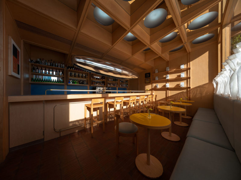 C2 Cafe & Bar by Various Associates