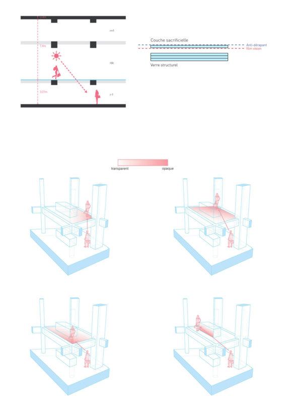 Glass Floor Diagram