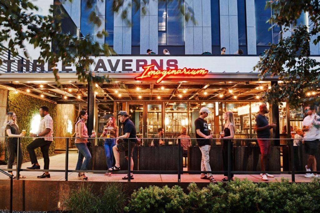 Three Taverns Imaginarium by Square Feet Studio