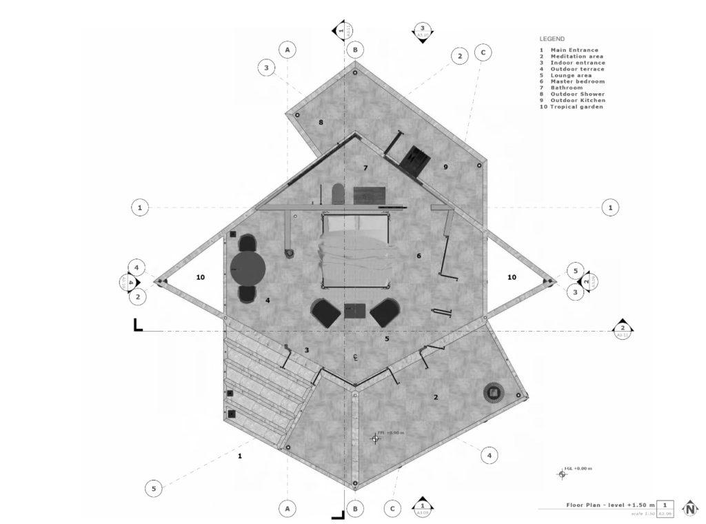 Floor Plan - KH Retreat