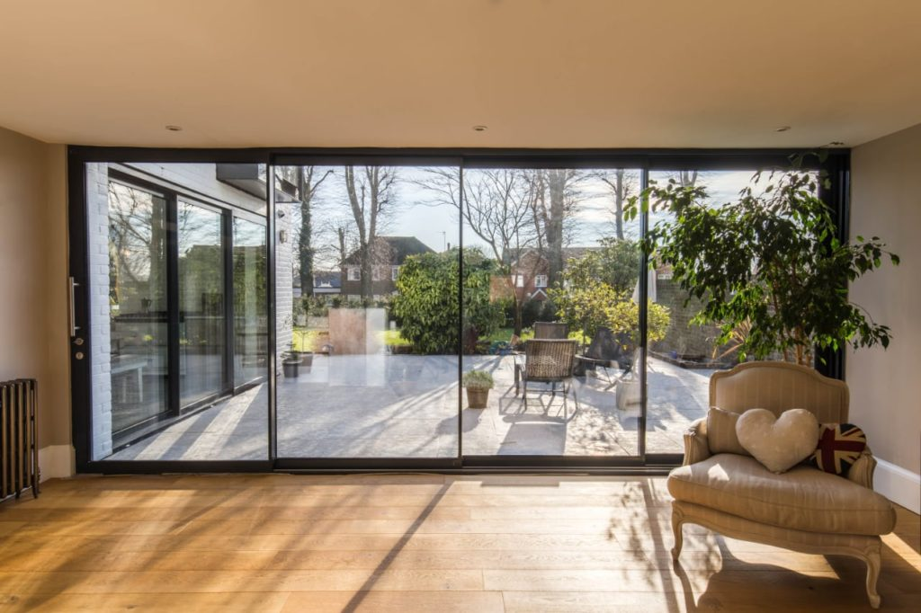 Manor House, a series of walled courtyard gardens by Alter & Company