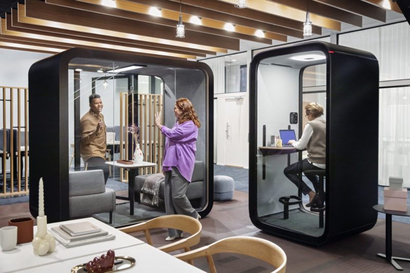 Framery Launches World's First Connected Phone Booth as Offices Prepare for Growing Demand for Video Conferencing