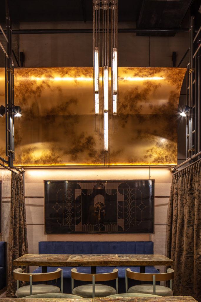 Osten Cocktail Bar by Hitzig Militello Architects