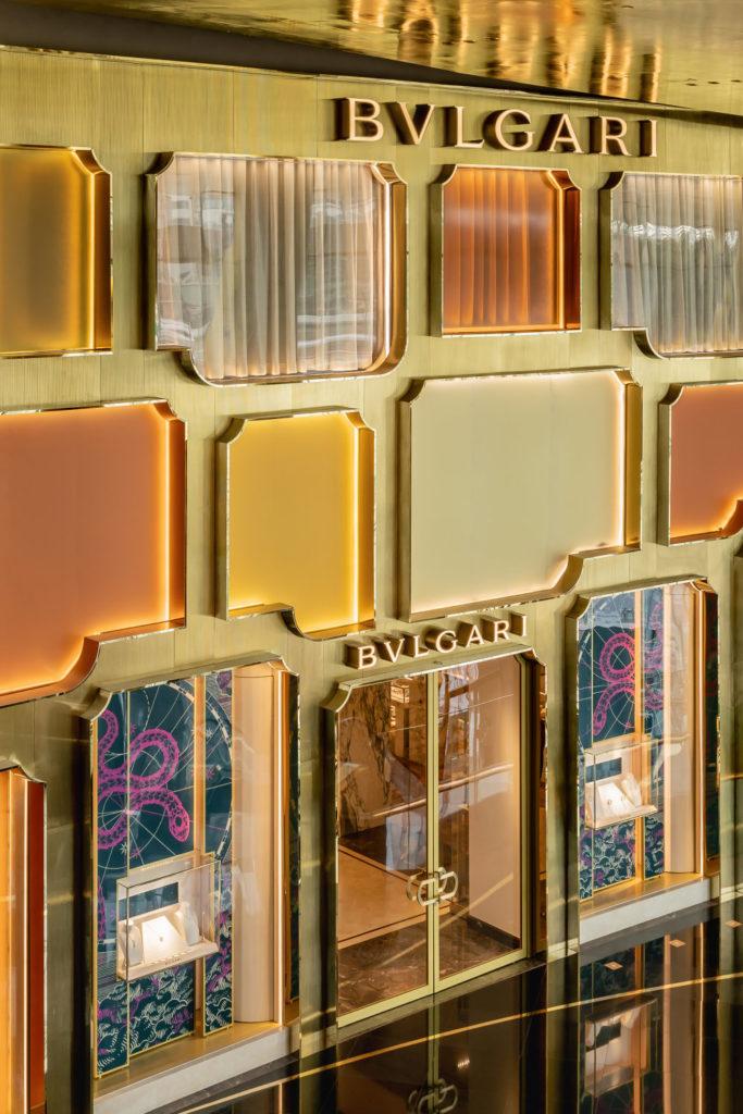 Bangkok now has a Bvlgari flagship store with a façade designed by MVRDV