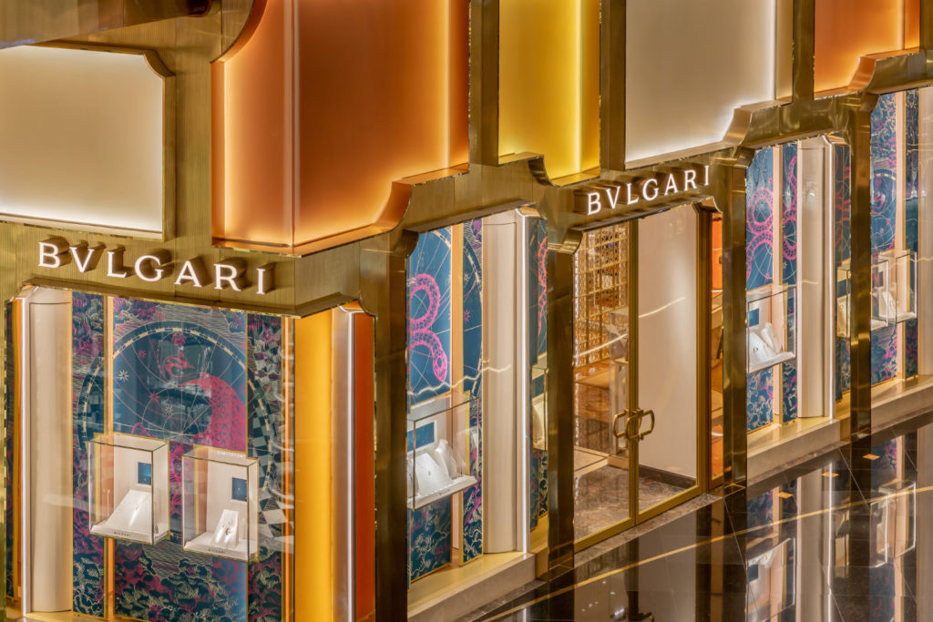 Bangkok now has a Bvlgari flagship store with a façade designed by MVRDV