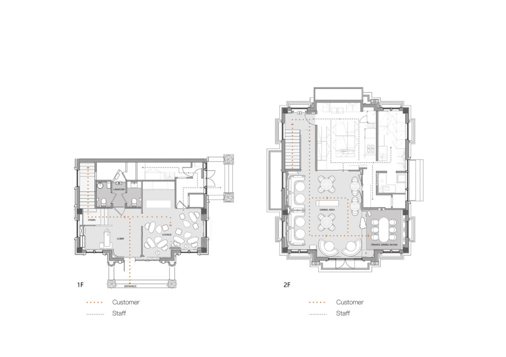 1F&2F Floor plan