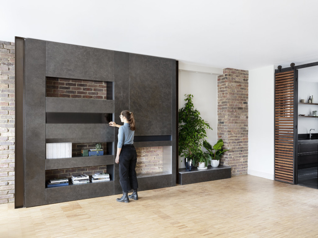 Melange Maisonette in Chelsea by Amos Goldreich Architecture