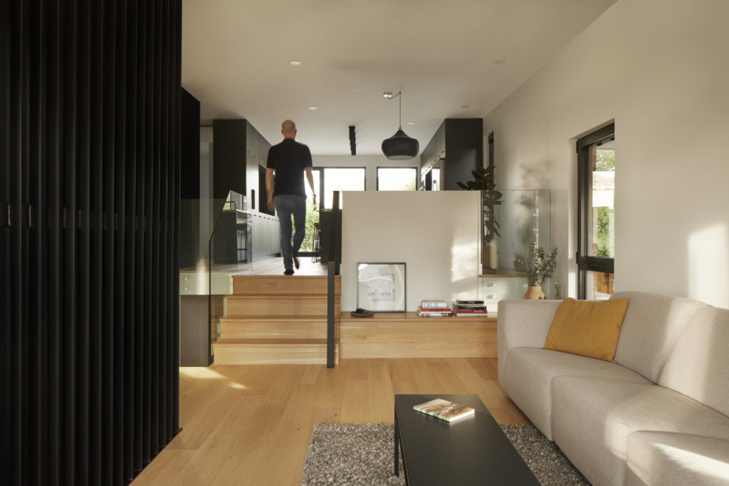 General view of the living spaces