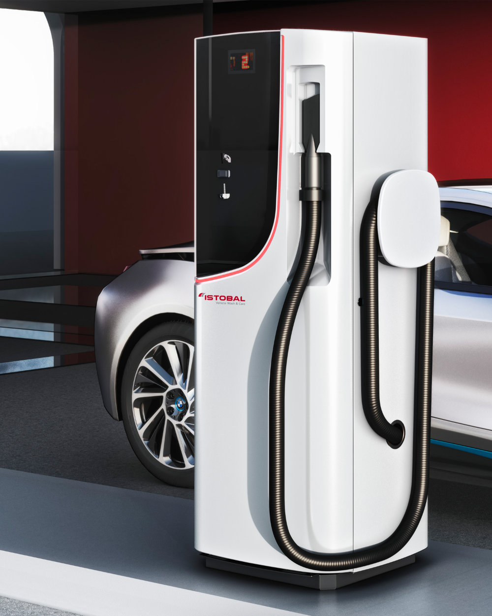 Alegre Design defines Istobal's new vehicle vaccuming systems