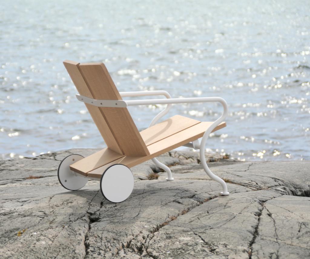 Atelier Sandemar: New lounge chair designed by David Ericsson