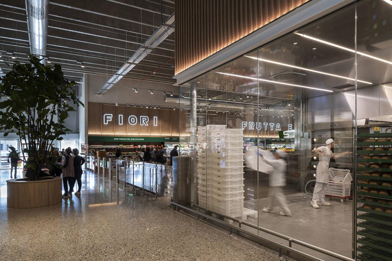 Landini Associates' transformative design for Italian supermarket chain Esselunga