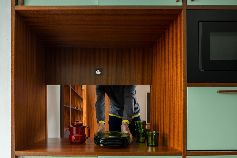 Santos Pousada Apartment by Hinterland Architecture Studio