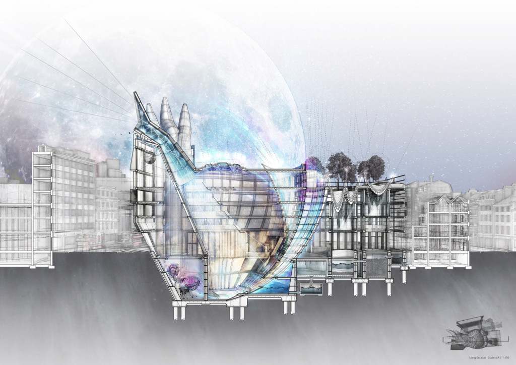 The Moon Catcher at the Venice Biennial Architecture Exhibition - Time Space Existence 2021