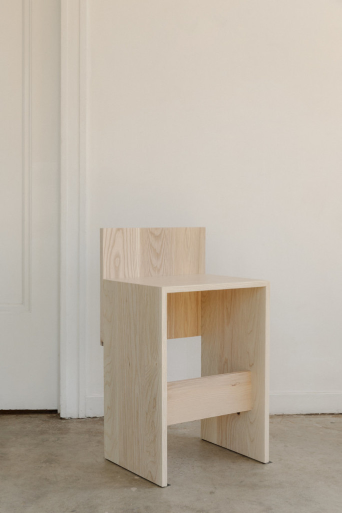 Slab Collection - Counter Stool