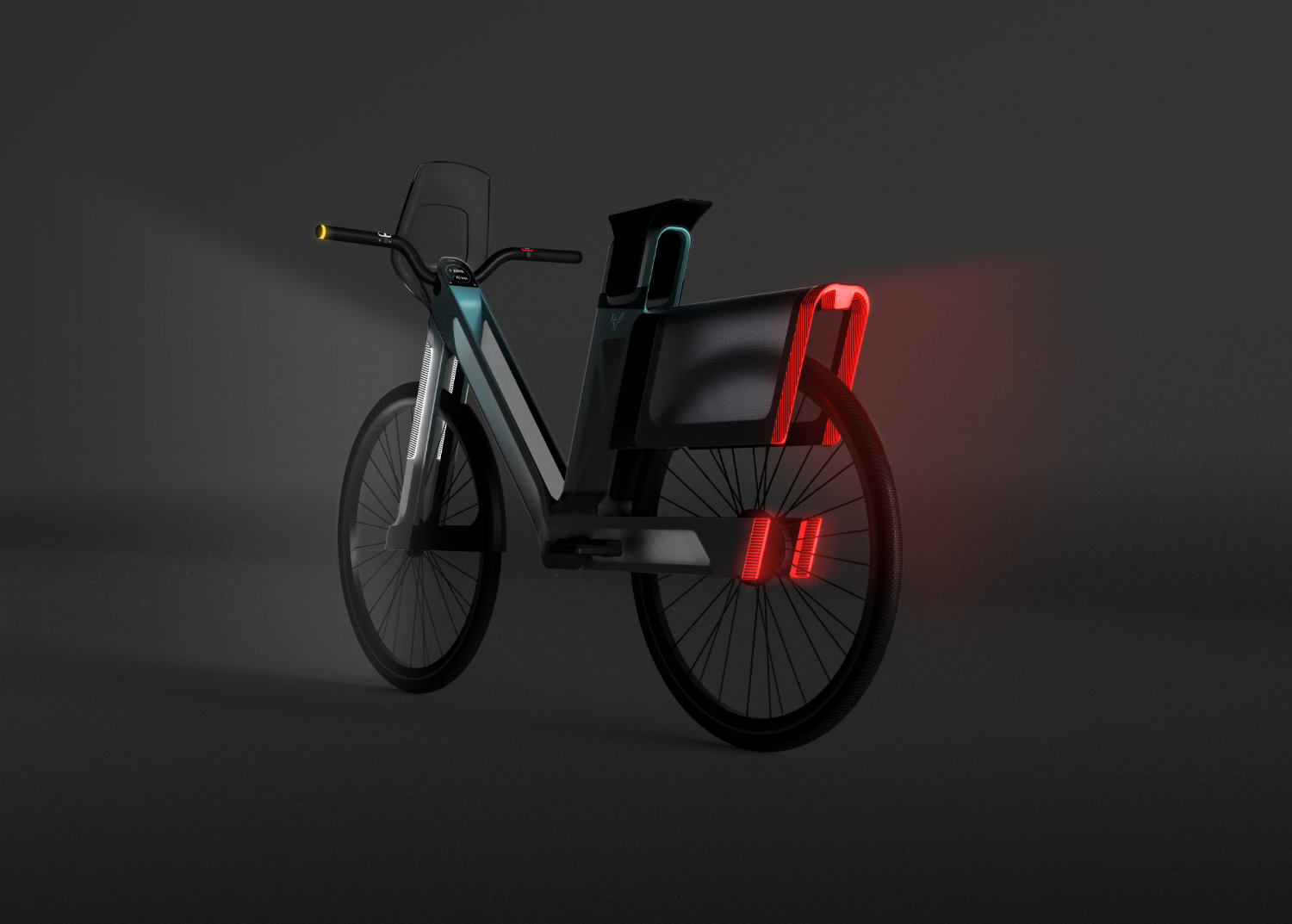 YAK, a sustainable urban mobility solution for professional riders